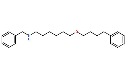N-苄基-6-(4-苯丁氧基)己胺